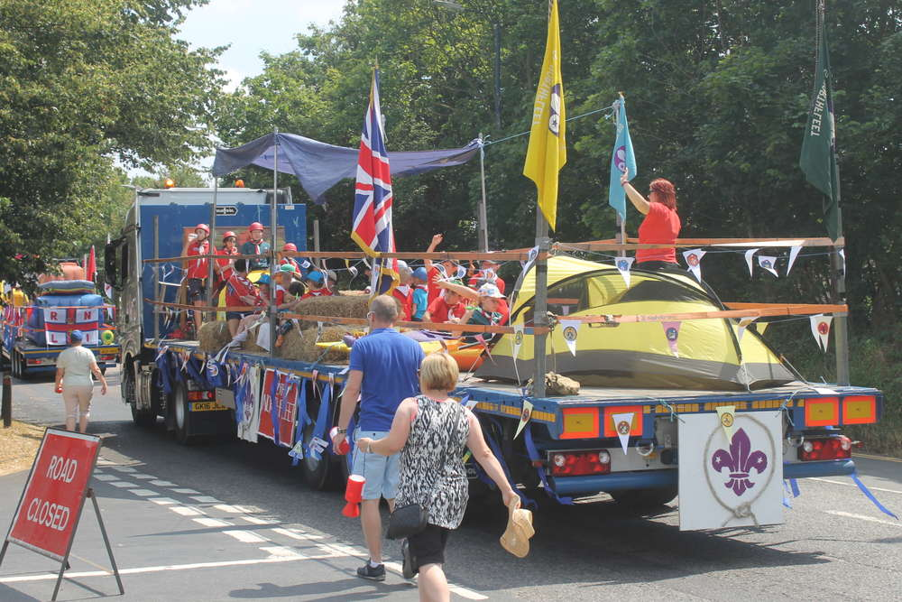 3rd Place in Northfleet carnival